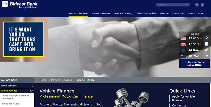 Bank Vehicle Finance