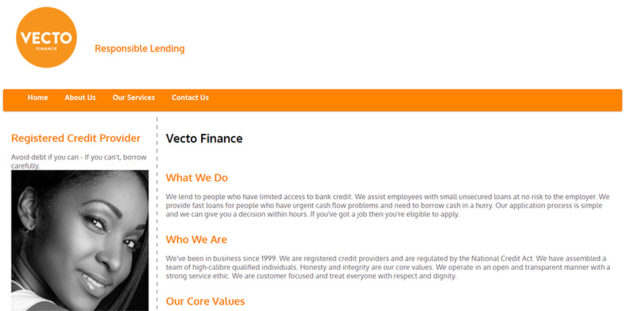 VECTO Finance loans